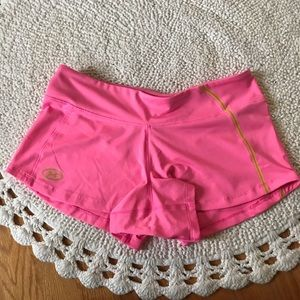 Pink Under Armour Athletic Semi-Fitted Shorts M